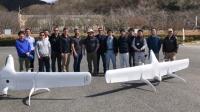ニュース画像:高性能ドローン「Swift021」を使用した実証実験を岡山県で実施