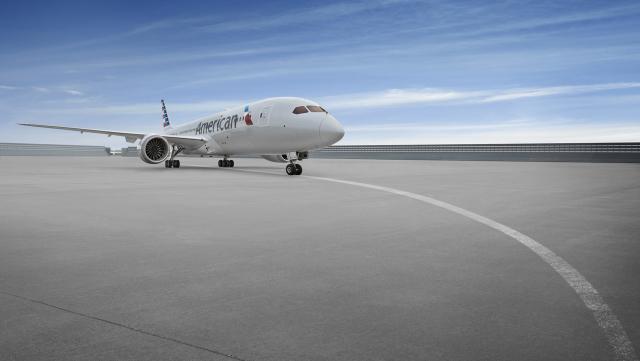 ニュース画像 1枚目:アメリカン航空 787