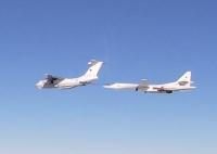 ニュース画像:ロシア空軍Tu-160、大西洋を飛行 ノルウェー空軍などエスコート