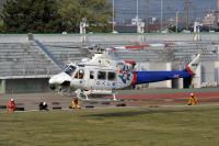 ニュース画像:福島県防災航空隊、ベル412EP「JA821F」を抹消登録