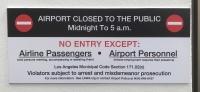 ニュース画像:ロサンゼルス空港、セントラル・ターミナル・エリア内を夜間閉鎖