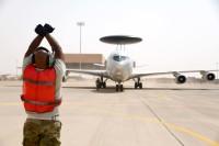 ニュース画像:アメリカ空軍E-3G、サウジアラビアに迅速な展開能力テストを実施