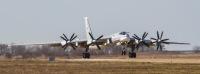 ニュース画像:ロシア空軍Tu-95MS、タガンログで定期検査後にテスト飛行