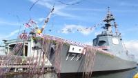 ニュース画像:海自、3月19日に護衛艦「まや」の引渡式と自衛艦旗授与式