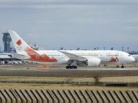 ニュース画像:JALとANA、オリンピック聖火リレー輸送で協力 JA837Jが出発