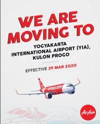 ニュース画像:エアアジア、ジョグジャカルタで新空港に移転 3月29日