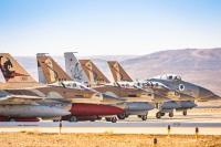 ニュース画像:イスラエル空軍の戦闘飛行隊、電子戦下の演習を実施