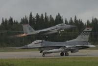 ニュース画像:アメリカ空軍、新型コロナ影響で「レッドフラッグ・アラスカ」演習を中止
