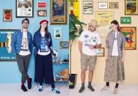 ニュース画像:ミズノ、パンナムとコラボウエア販売 ヴィンテージポスターTシャツなど