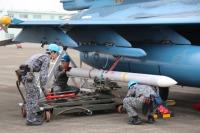 ニュース画像:第5航空団、「異機種再発進準備訓練」を実施 築城基地のF-2を使用