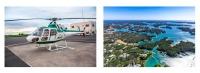 ニュース画像:AirX、KNT-CTホールディングスとヘリコプター遊覧などを提供