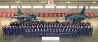 ニュース画像:第3飛行隊、三沢から百里移転で壮行行事