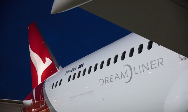 ニュース画像 1枚目:カンタス航空 ロゴ