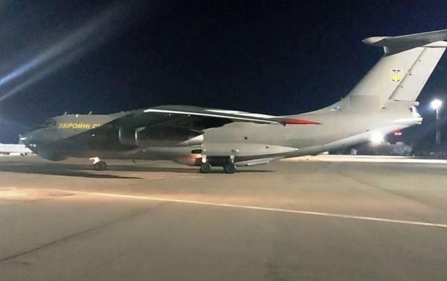 ニュース画像 1枚目:ウクライナ空軍 IL-76