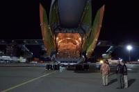 ニュース画像 3枚目:支援物資を搭載