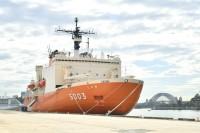 ニュース画像:砕氷艦「しらせ」、行動予定を変更 横須賀への入港は4月6日に