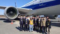 ニュース画像:崇城大学、宇宙航空システム工学科の学生がANA熊本空港事務所を見学