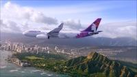 ニュース画像:ハワイアン航空、ハワイ諸島内・カリフォルニア・サモア路線は運航を継続