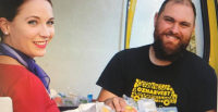 ニュース画像:豪ヴァージン・グループ、過去最高の6,000食を食料救援団体に寄付