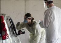 嘉手納基地、新型コロナウィルス検査と安全保障で二方面作戦の画像