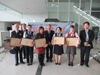 ニュース画像:徳島空港、CS推進活動で顕著な功績を残した空港従業員を表彰
