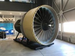 ニュース画像 1枚目:PW4000-112エンジン 模型
