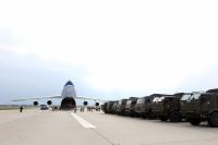 ニュース画像 2枚目:An-124の積荷を輸送