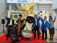 ニュース画像:セントレアの金シャチキャラバン、国内13空港を巡る日本縦断を達成
