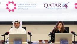 ニュース画像 1枚目:カタール航空 記者会見