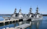 ニュース画像:第7護衛隊の護衛艦4隻、大湊港に勢揃い