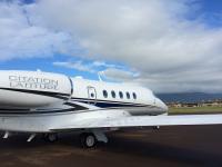 ニュース画像:サイテーション・ラティチュード、西海岸とハワイ間の太平洋横断飛行を実施
