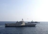 ニュース画像:外洋練習航海中のてるづき、マレーシアとブルネイへの寄港中止