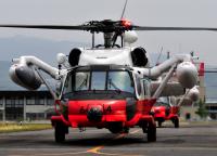 第22航空群のUH-60J、新型コロナウイルス患者の急患空輸に対応の画像