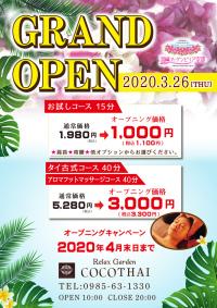 ニュース画像:宮崎空港「リラックスガーデンココタイ」、4月30日まで特別価格で提供