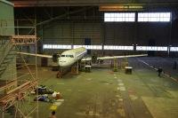 ニュース画像:HASM、YS-11量産初号機「JA8610」の輸送作業の様子を公開