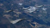 ニュース画像:スウェーデン空軍グリペン、フランス海軍ラファールMなどと共同訓練