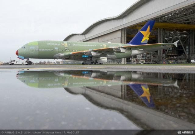 ニュース画像 1枚目:スカイマークに導入される予定だったA380
