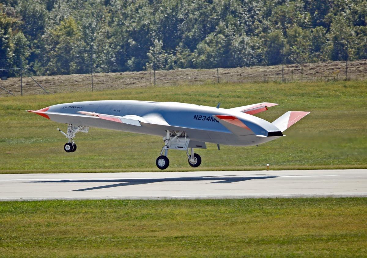 ニュース画像 1枚目:無人空中給油機 MQ-25スティングレイ