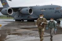 ニュース画像:COVID-19との戦い、アメリカ空軍予備役コマンドが医療関係者空輸