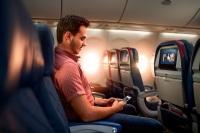 ニュース画像:デルタ、エコノミーなどで座席ブロック 社会的距離を確保へ
