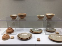 ニュース画像:鹿児島空港、陶芸家の原田眞利子さん個展を開催 4月23日まで