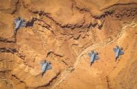 ニュース画像:新型コロナウィルス環境下でもイスラエルと米空軍F-35が共同訓練