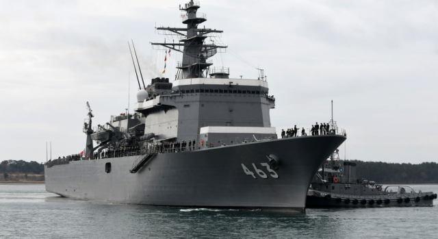 ニュース画像 1枚目:掃海母艦「うらが(MST-463)」
