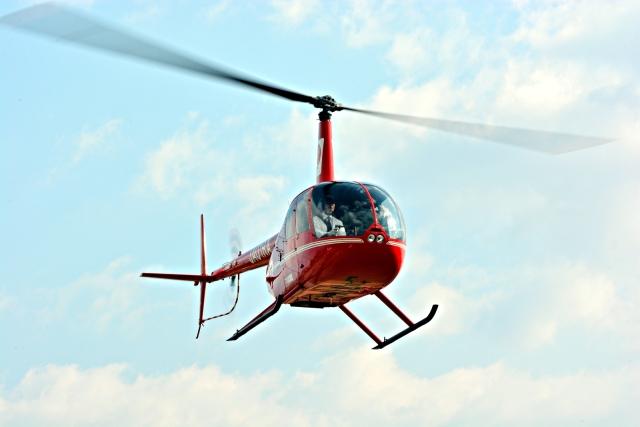 ニュース画像 1枚目:つくば航空 ロビンソン式R44Ⅱ型