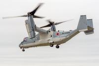 ニュース画像:陸上自衛隊のV-22オスプレイ、木更津駐屯地に到着