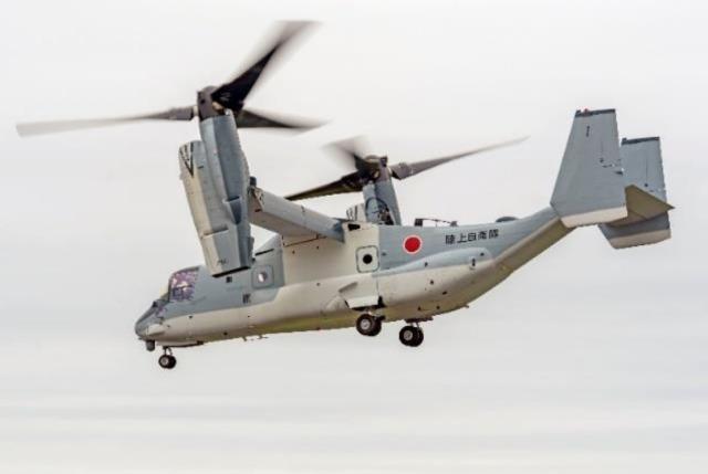 ニュース画像 1枚目:陸上自衛隊 V-22 オスプレイ