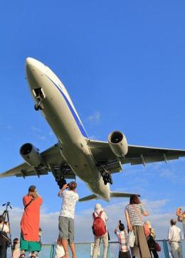 ニュース画像 1枚目:あいち航空ミュージアム第2回フォトコンテスト最優秀賞「到着便」