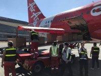 ニュース画像:フィリピン・エアアジア、緊急輸送ニーズに応えるため旅客便の機内を活用