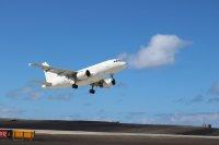 ニュース画像:タイタンエアウェイズA318がセントヘレナへ運航、初のエアバス機