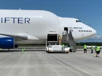 ニュース画像:ボーイングとアトラス航空、150万個のマスクを香港からアメリカへ輸送